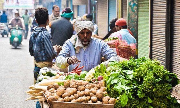 Paseando por los callejones de la «Vieja» Delhi