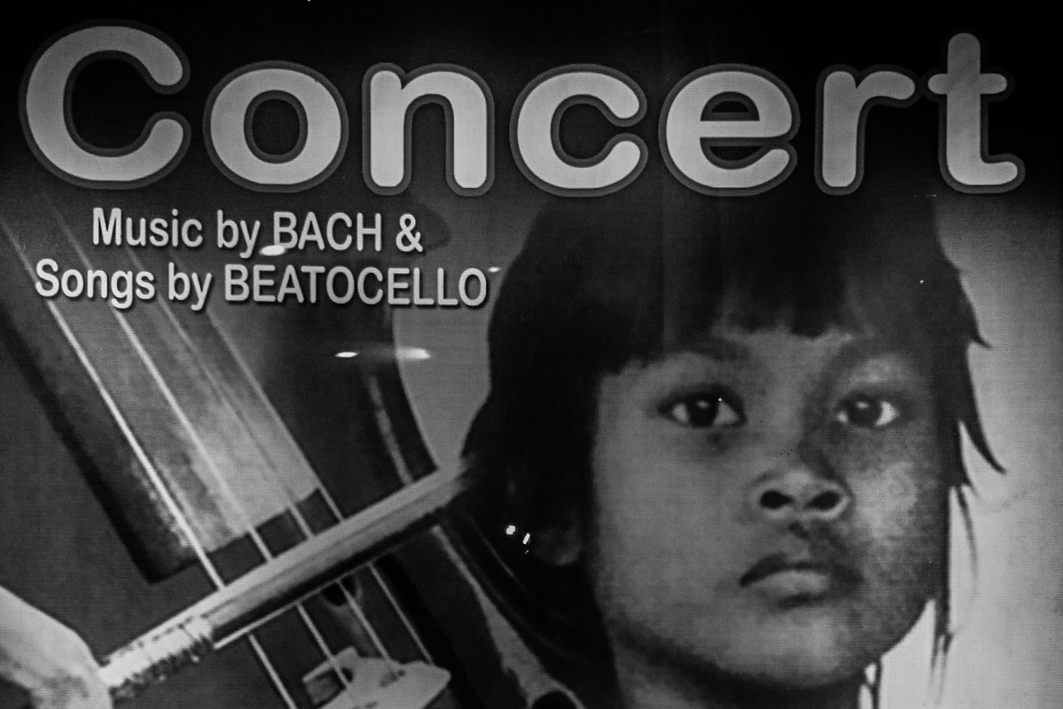 A free concert with Dr Beat Richner and his cello