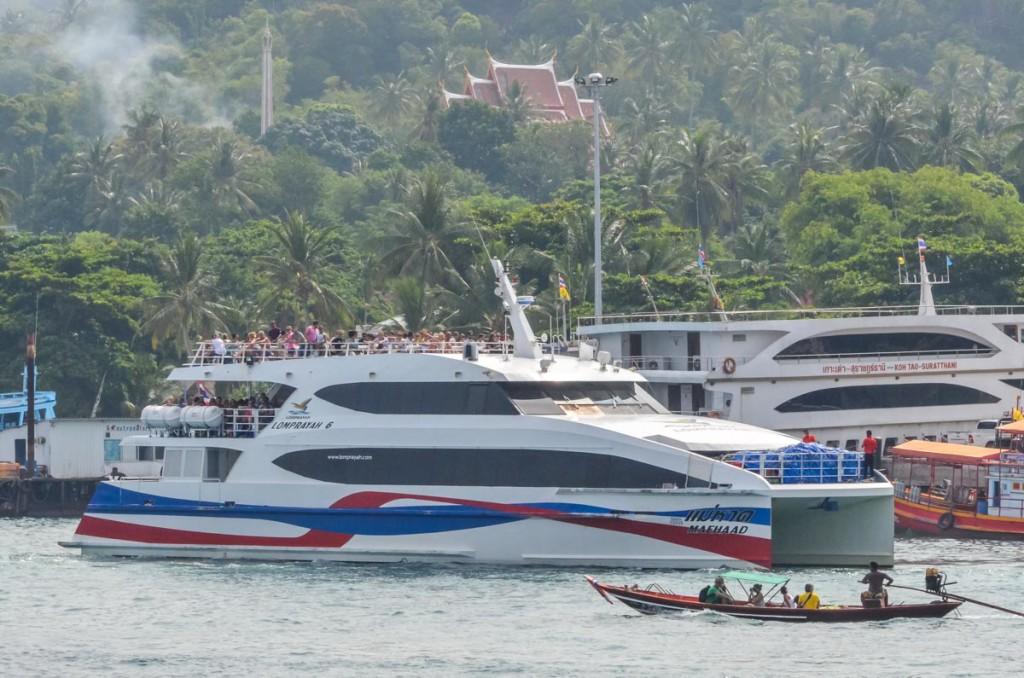 koh tao for beginners - lomprayah ferry