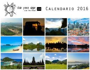 Calendario Vivir para Viajar 2016