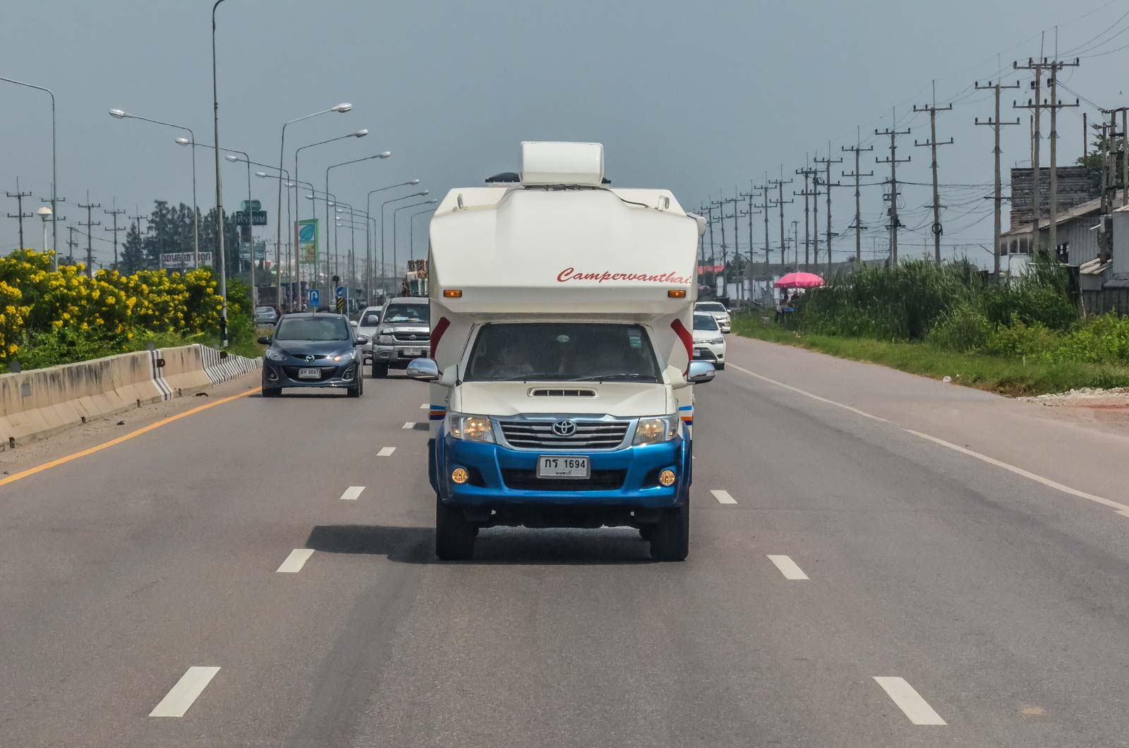 How to rent a campervan in Thailand?