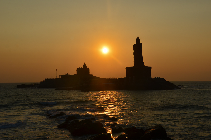 Kanyakumari-Sunrise-Amanecer-India