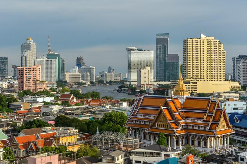 Bangkok-Tailandia-Rascacielos