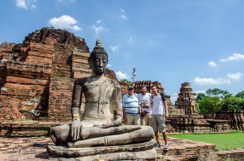 Ayutthaya-Familia-Tailandia