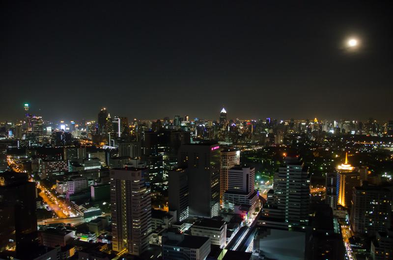 Bangkok-Rascacielos-Noche-Cloud47-Tailandia