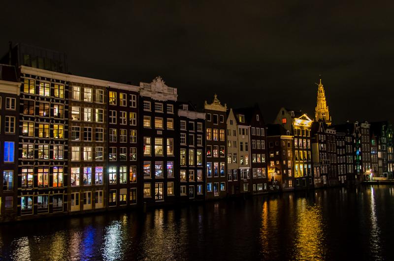 Amsterdam-Holanda-Noche