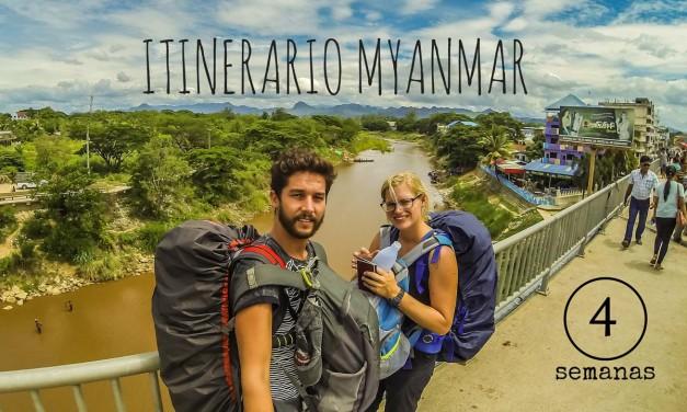 Itinerario Myanmar: 4 semanas de mochilero por la antigua Birmania