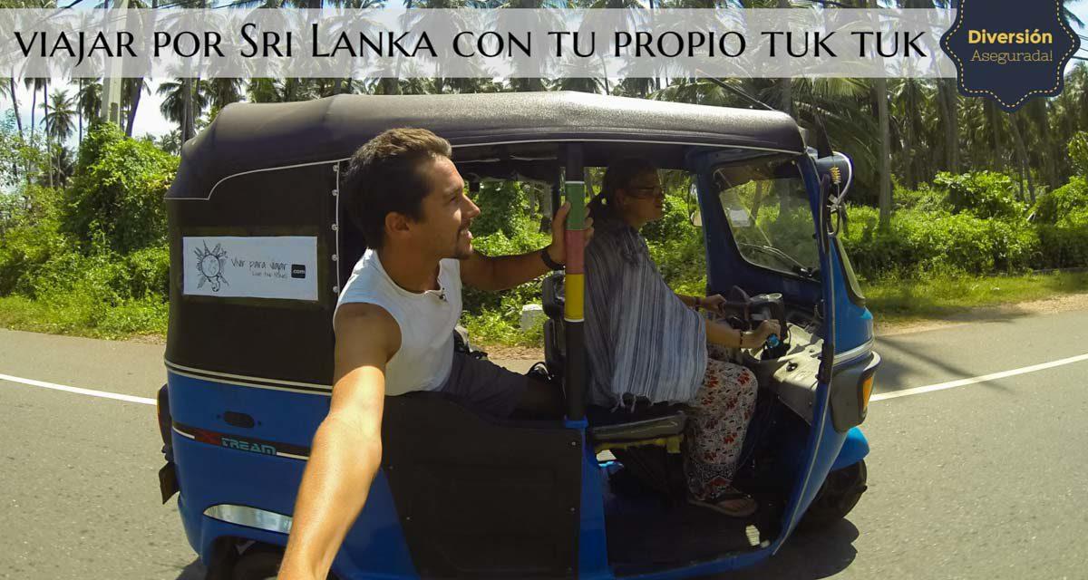 ¿Cómo alquilar un Tuk Tuk en Sri Lanka?