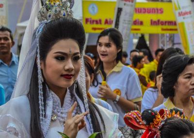 festival vegetariano de Bangkok-5249