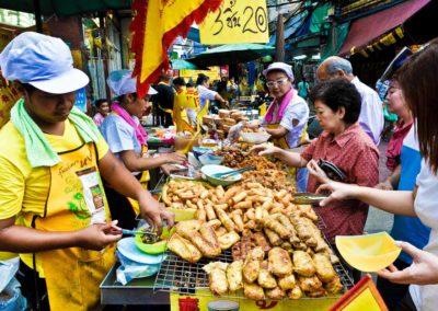 festival vegetariano de Bangkok-5340