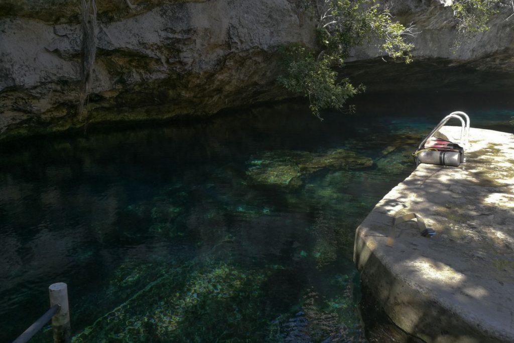 Entrada del cenote
