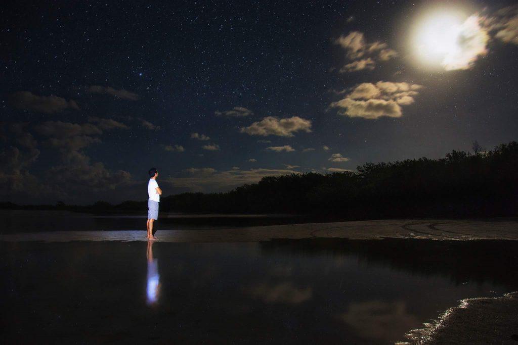 tiempo para ver las estrellas
