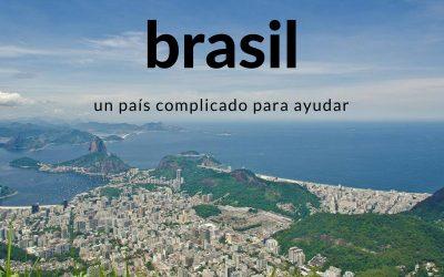 Brasil, un país complicado para ayudar