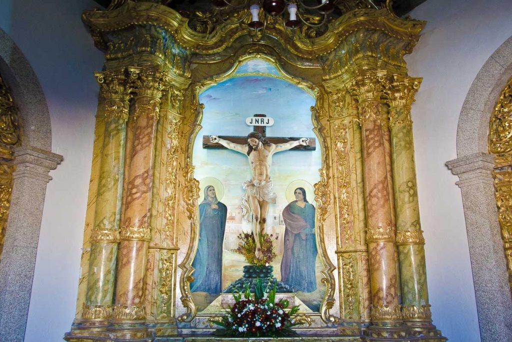 Interior Capilla del Señor de Piedra