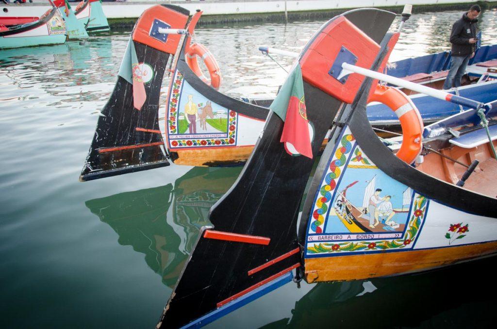 Moliceiro, barco tipico de Aveiro