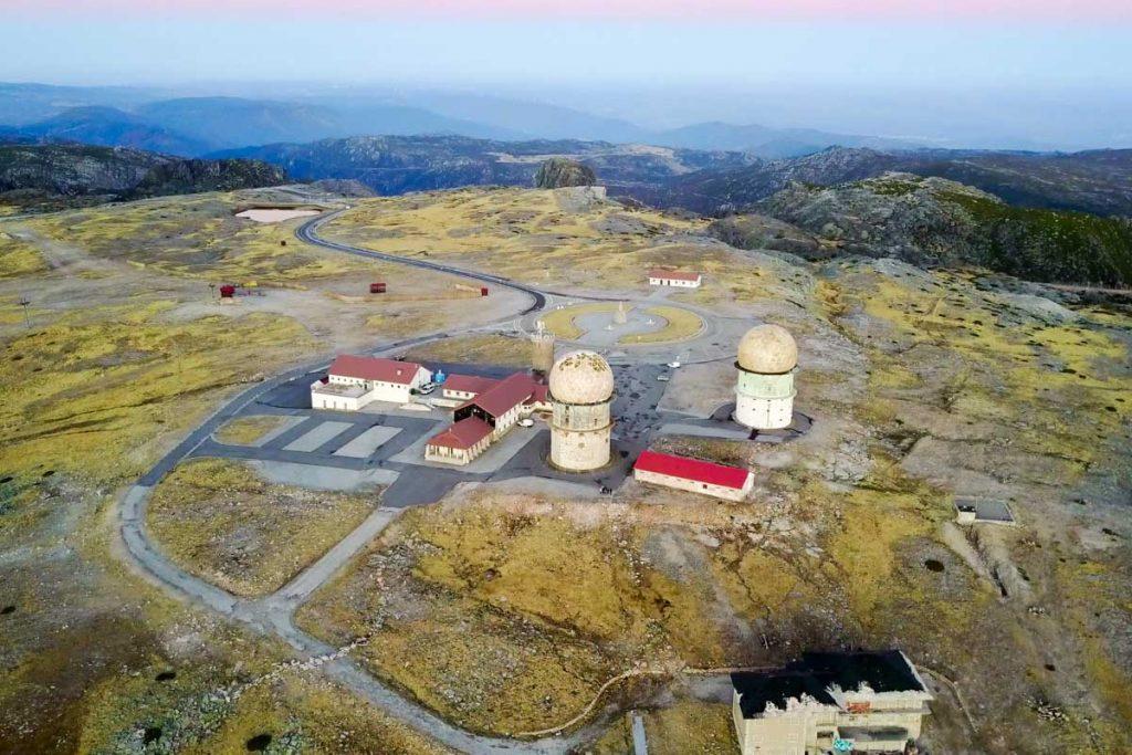 Sierra de la Estrella a vista de dron