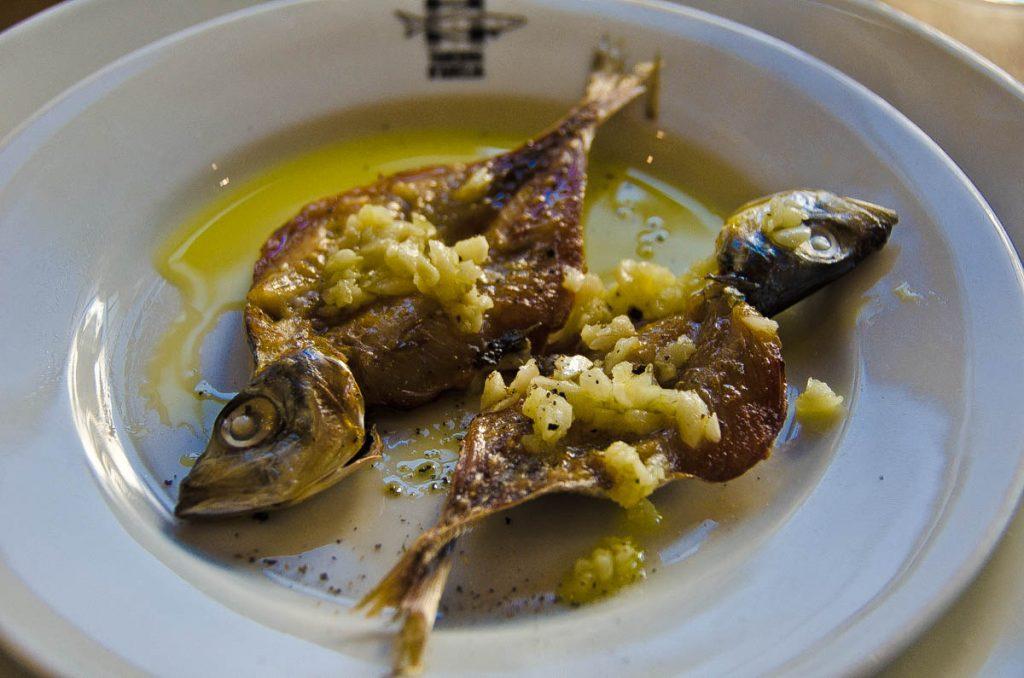 pescado seco en nazare