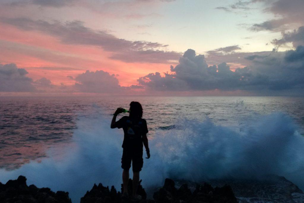 Atardecer en Nusa Lembagon
