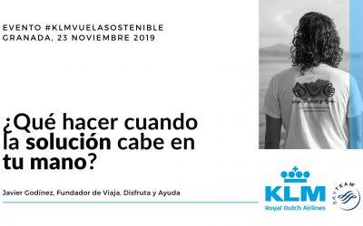 #KLMVuelaSostenible en Granada